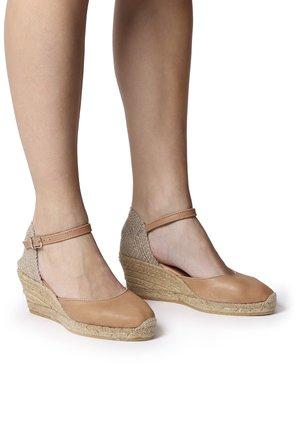 COSTA-5 - Wedge sandals - tan