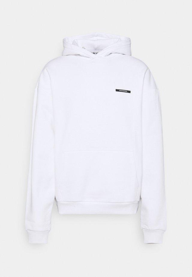 SILENCE WAVES HOODIE - Sweater - white