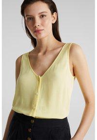 Esprit - CORE - Blouse - lime yellow - 4