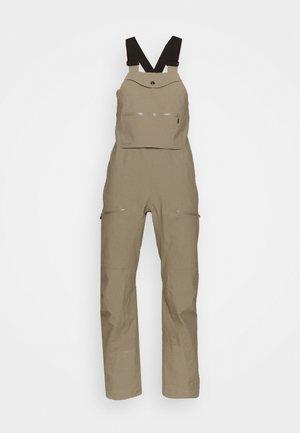 TAMOK GORE-TEX PRO BIB - Snow pants - beige