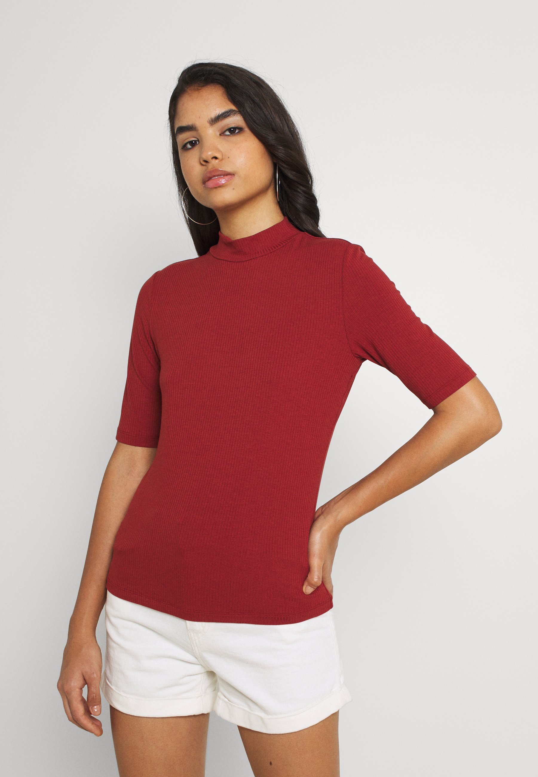 Damen VISOLITTA FUNNELNECK - T-Shirt basic