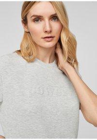 s.Oliver - T-shirt imprimé - gray - 4