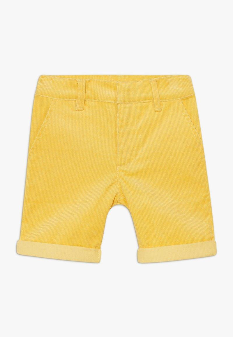 The New - ORDUROY - Shorts - sulphur