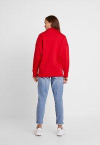 adidas Originals - ADICOLOR HALF-ZIP PULLOVER - Sweatshirt - scarlet - 2