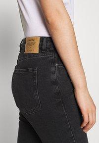 American Vintage - YOPDAY - Straight leg jeans - black denim - 5