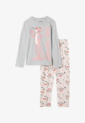PINK PANTER - Pyjama set - light grey, pink