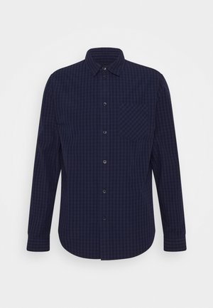 Shirt - mottled grey/blue