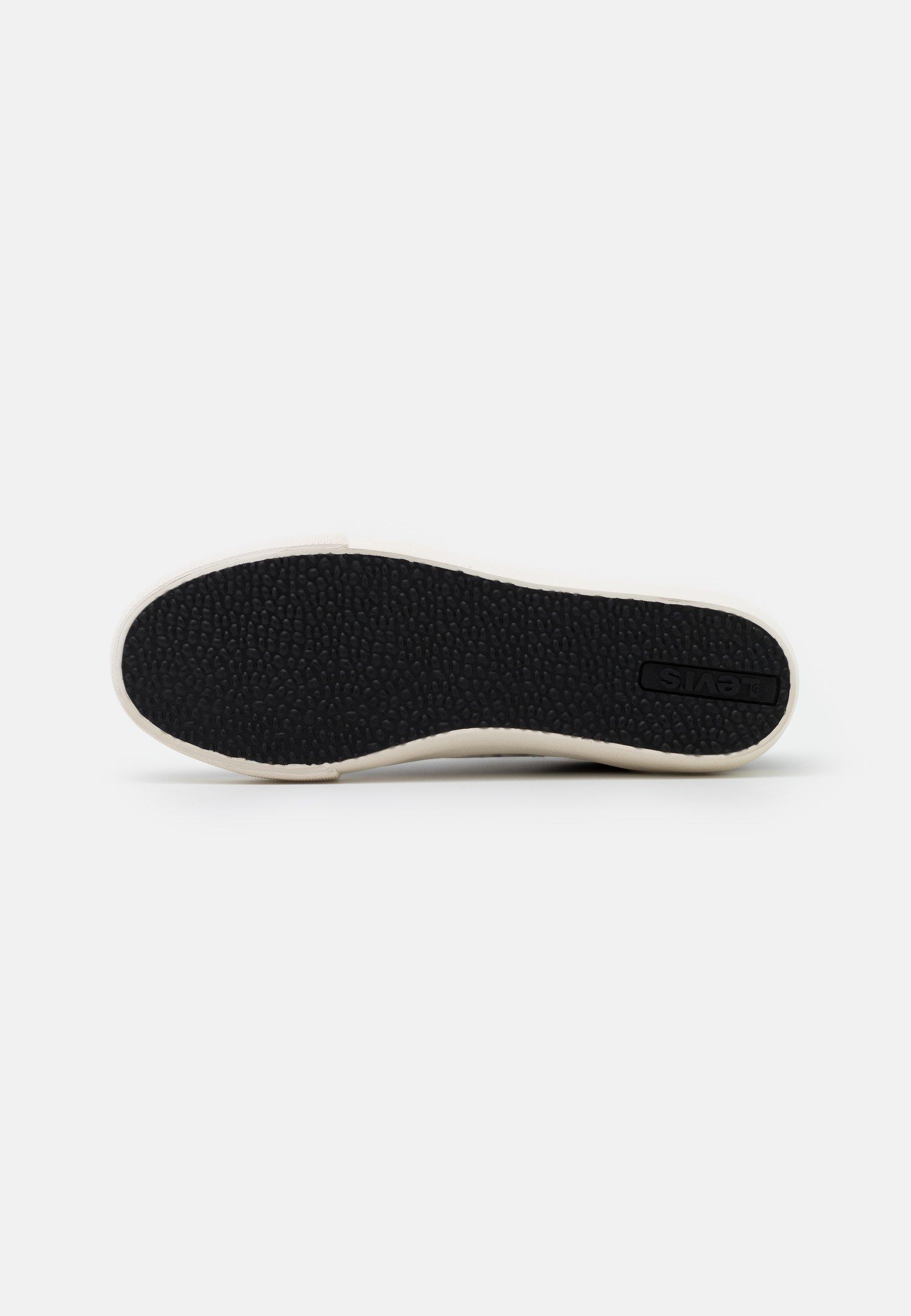 Levi's® WOODWARD Sneaker low regular black/schwarz