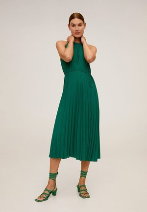 AGOSTO - Day dress - smaragdgrön