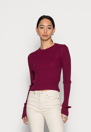 THE ENCORE - Jumper - mulberry