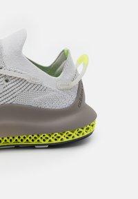 adidas Originals - 4D FUSIO UNISEX - Trainers - grey one/grey six/solar yellow - 5