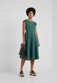 WEEKEND MaxMara - PIREO - Day dress - dark green/white/black - 1