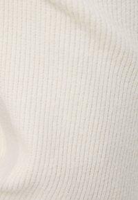 Bershka - MIT WEITEM BEIN UND KORDEL - Bukser - beige - 5