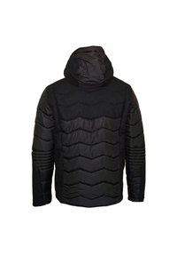EA7 Emporio Armani - MIT KAPUZE - Winter jacket - black - 4