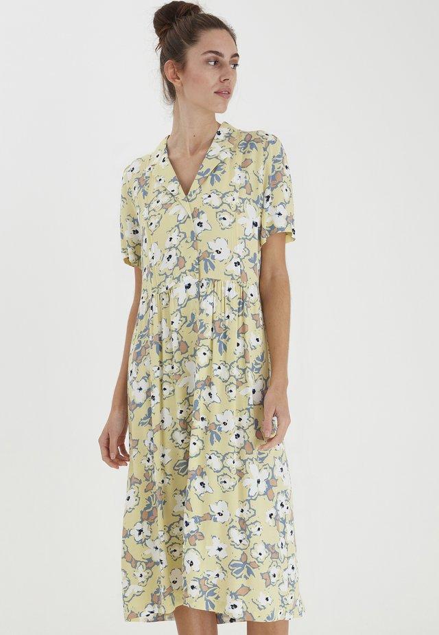 Robe chemise - golden mist