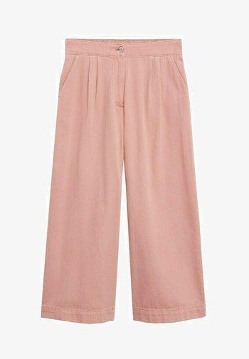 RUSTIC - Pantalon classique - roze