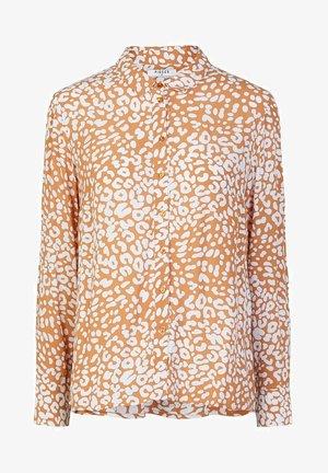 Button-down blouse - meerkat