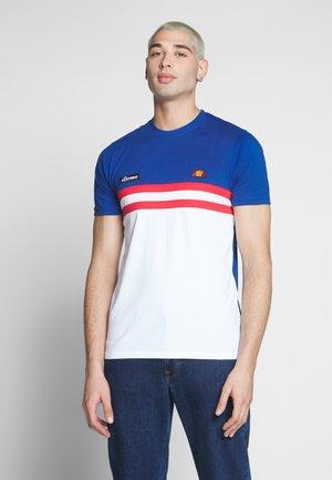 VENIRE - T-shirt med print - blue