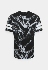 Jack & Jones - JCONEWANTHEM TEE CREW NECK - Print T-shirt - black - 0