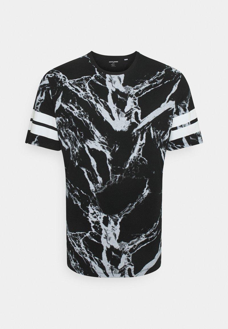 Jack & Jones - JCONEWANTHEM TEE CREW NECK - Print T-shirt - black