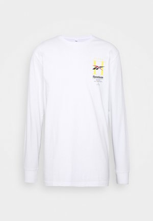 HOTEL TEE - Long sleeved top - white