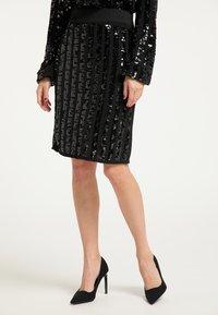 faina - Pencil skirt - schwarz - 0