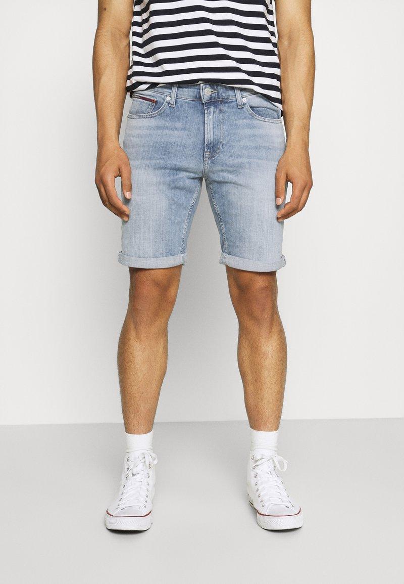 Tommy Jeans - SCANTON SLIM  - Denim shorts - hampton