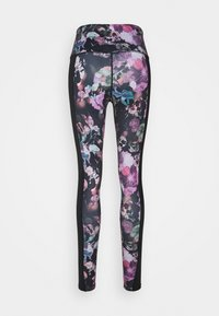 Hunkemöller - LEGGING WILD BLOOM - Leggings - black - 1
