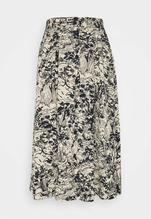 SIGRID SKIRT - Gonna a campana - blue dark  landscape