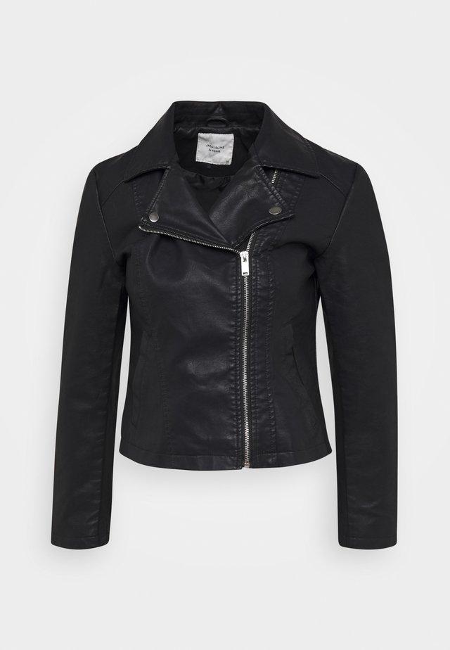 JDYSIMBA  - Veste en similicuir - black
