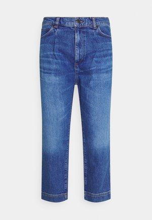 Relaxed fit jeans - bright blue