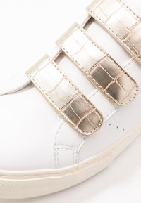 No Name - ARCADE STRAPS - Trainers - white/gold - 2
