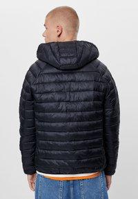 Bershka - MIT KAPUZE - Light jacket - black - 1
