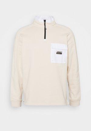 UTILITY CREW - Sweatshirt - halo ivory