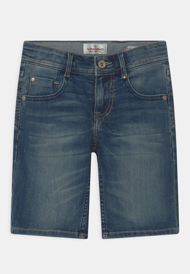 CHARLIE - Denim shorts - cruziale blue