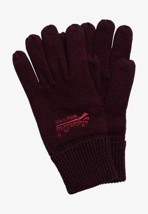 ORANGE LABEL - Gloves - cranberry grit