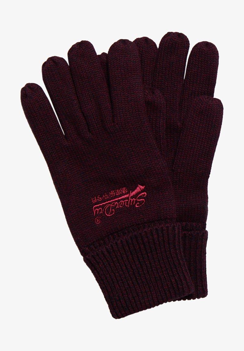 Superdry - ORANGE LABEL - Gloves - cranberry grit