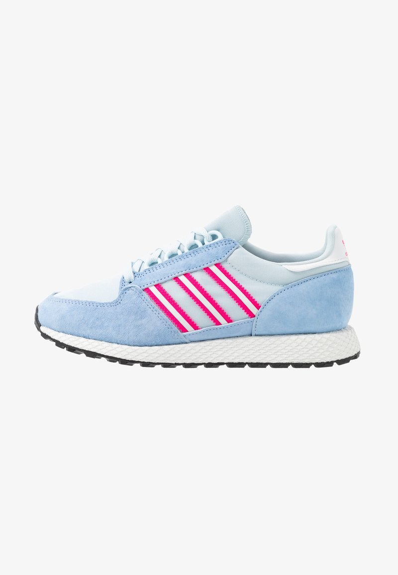 adidas Originals - FOREST GROVE  - Sneakers - periwi/crystal white/shock pink