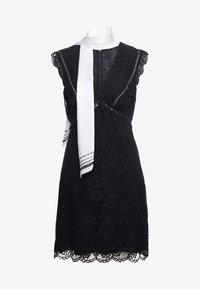 Pinko - NINNARE ABITO - Cocktail dress / Party dress - nero bianco - 5