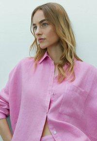Massimo Dutti - Koszula - neon pink - 3