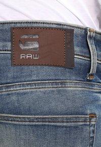 G-Star - 3301 DECONSTRUCTED SUPER SLIM - Slim fit jeans - blue denim - 4