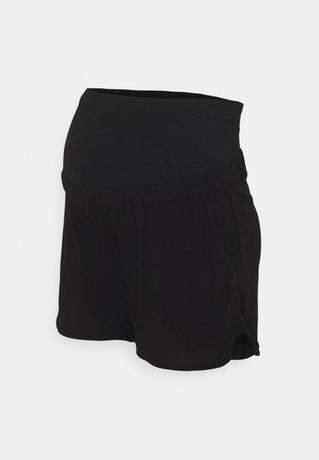 MOM KRISTIN - Shortsit - black
