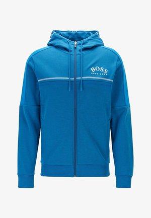 SAGGY - Zip-up hoodie - blue