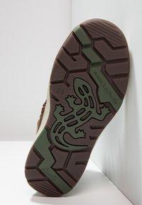 Lurchi - DOUG-TEX - Šněrovací kotníkové boty - tan tabacco - 4