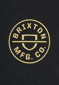 Brixton - CREST HOOD - Hoodie - black - 2
