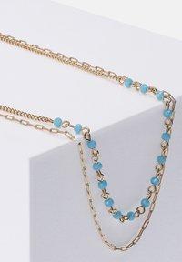 Six - MIT GLASSTEINEN IN GLANZ-OPTIK - Necklace - blau - 1