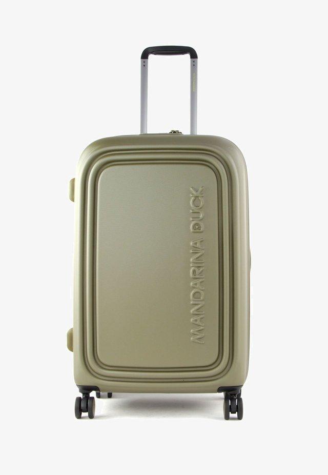 Wheeled suitcase - military olive