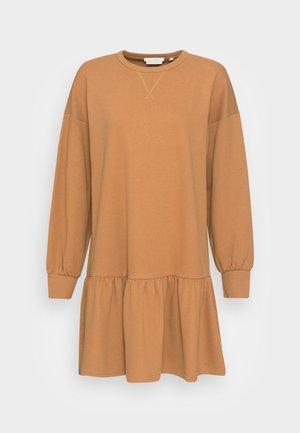 DRESS - Robe d'été - soft camel