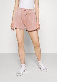 ONLY - ONLLAYA - Shorts - adobe rose - 0