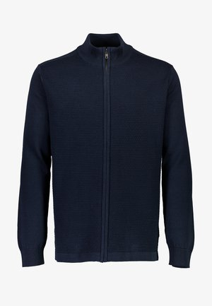 Sweater met rits - navy